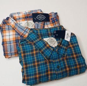 St. John's Bay Bundle of Brand New Men's Flannels